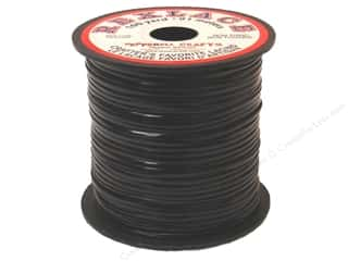 Laces Black: Pepperell Rexlace Craft Lace 100 yd. Black