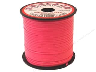 Pepperell Rexlace Craft Lace 100 yd. Neon Pink