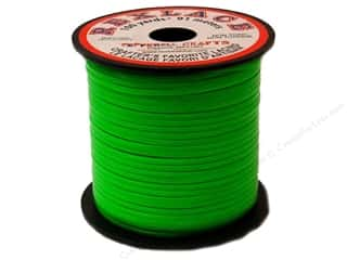 Pepperell Rexlace Craft Lace 100 yd. Neon Green