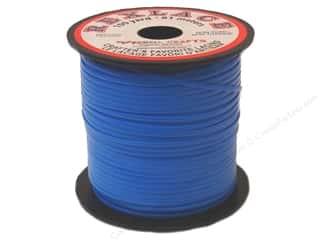 Pepperell Lace Rexlace 100yd Spool Neon Blue