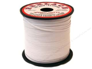 Pepperell Braiding Co: Pepperell Lace Rexlace 100yd Spool Spool White