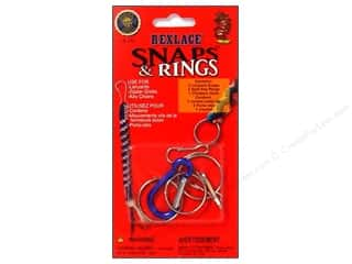 Kids Crafts Lanyard Braiding: Pepperell Rexlace Snaps & Rings Pack (3 packages)
