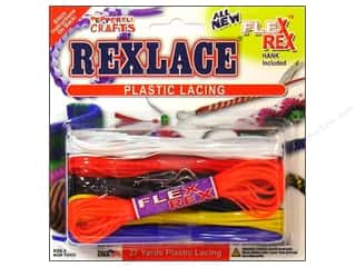 Pepperell Braiding Co: Pepperell Rexlace Craft Lace 27 yd. Cool Combo Basic