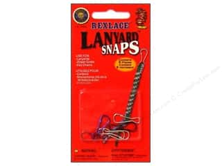 Weekly Specials Kid's Crafts: Pepperell Rexlace Lanyard Snaps 6pc (3 packages)