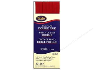 wrights bias tape double: Wrights Double Fold Bias Tape Brick 4 yd.