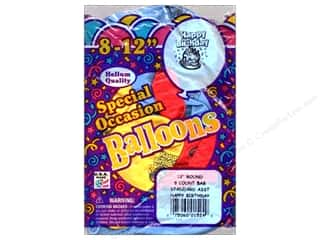 "PNL Balloons Special Occasion 12"" Happy Bday 8pc"