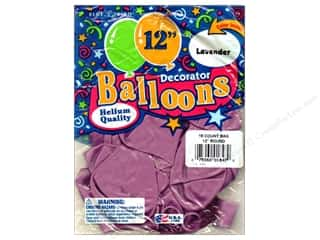"Holiday Sale: PNL Balloons Blue Bird Deco 12"" Lavender 15pc"