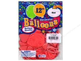 "PNL Balloons Blue Bird Deco 12"" Red 15pc"