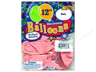 "PNL Balloons Blue Bird Deco 12"" Pink 15pc"