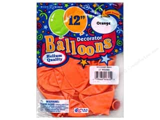"Holiday Sale: PNL Balloons Blue Bird Deco 12"" Orange 15pc"