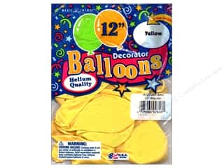 PNL Balloons Blue Bird Deco 12&quot; Yellow 15pc