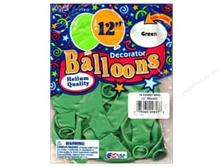 "PNL Balloons Blue Bird Deco 12"" Green 15pc"