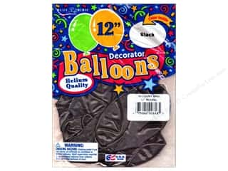 "PNL Balloons Blue Bird Deco 12"" Black 15pc"