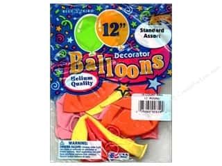 "PNL Balloons Blue Bird Deco 12"" Assorted 15pc"