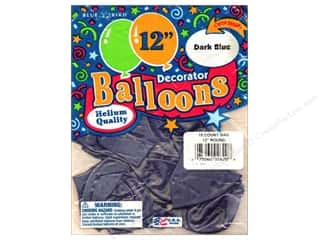 PNL Balloons Blue Bird Deco 12&quot; Dark Blue 15pc