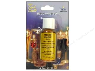 Yaley: Yaley Candle Dye Liquid .5oz Yellow