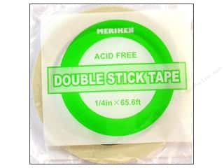 "Meriken Double Stick Tape 1/4""- 65 1/2 feet."