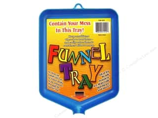"Plastic Funnels: New Phase Funnel Tray 6""x 8"""