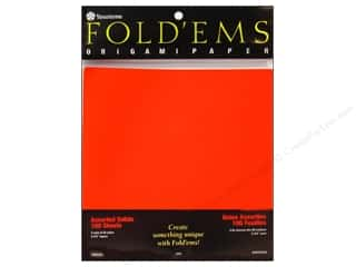 Y&amp;C Fold Ems Origami Paper 6.75&quot; Solid Astd 100pc