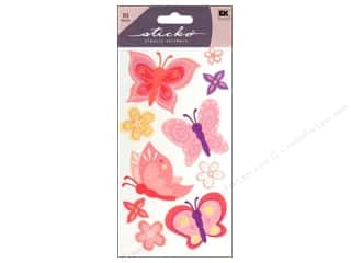 Insects $6 - $10: EK Sticko Stickers Pretty Butterfly