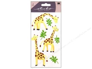 sticko: EK Sticko Stickers Giraffe