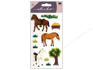 Patches Animals: EK Sticko Stickers Horse