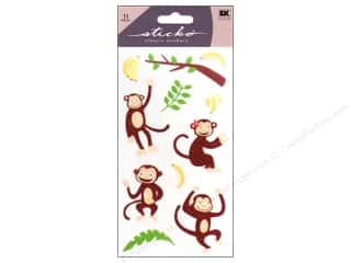 sticko: EK Sticko Stickers Monkey