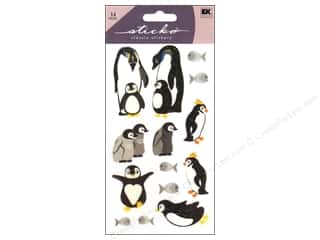 Scrapbooking EK Sticko Stickers: EK Sticko Stickers Penguin