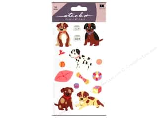 sticko: EK Sticko Stickers Puppies