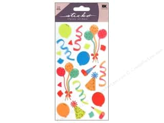 Flowers EK Sticko Stickers: EK Sticko Stickers Party