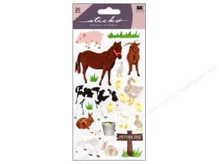 Pets Stickers: EK Sticko Stickers Petting Zoo