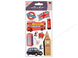 "Stickers 11"": EK Sticko Stickers London"