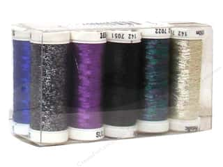 Threads Rayon, Silk, Metallic & Nylon Thread: Sulky Original Metallic Thread Top 10 Sampler