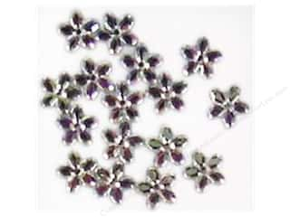 Clearance Blumenthal Favorite Findings: Jesse James Embellishments 10 mm Petals Crystal AB
