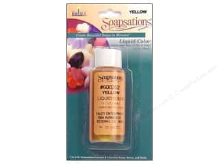 Yaley Soapsations Liquid Color 1 oz Yellow