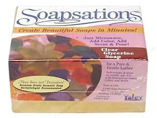 Soapmaking: Yaley Soapsations Soap Block Glycerine 1lb