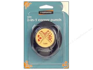 Punches Fiskars Punch: Fiskars Punch 3-in-1 Corner Lace