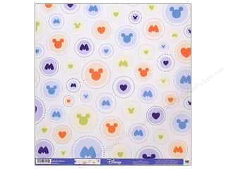 EK Paper 12x12 Disney Mickey Circles (25 sheets)