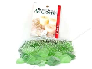 Panacea Decorative Beach Glass Pale Green 16oz