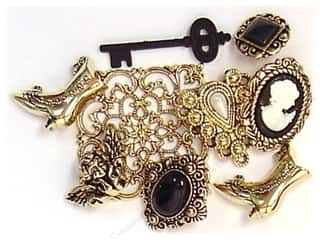 Craft Embellishments Size Metric: Jesse James Dress It Up Embellishments Nostalgic Treasures