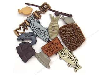 Sport Solution $3 - $4: Jesse James Dress It Up Embellishments Wilderness Collection Fishing