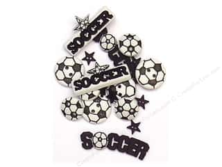 Jesse James Embellishments Sports Collection Soccer