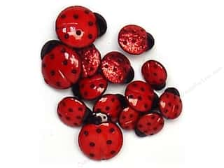 Jesse James Embellishments Ladybugs