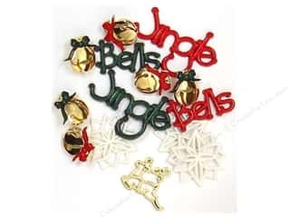 Jesse James Embellishments Jingle Bells