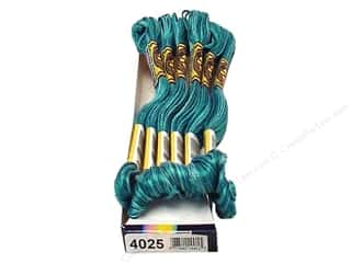 DMC Floss: DMC Color Variations Floss 8.7 yd. #4025 Caribbean Bay (6 skeins)