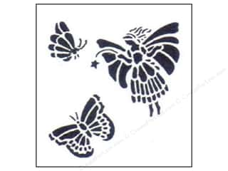 StenSource International 9 x 12: StenSource Painting Stencil Fairy
