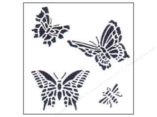 StenSource International: StenSource Painting Stencil Mini Butterflies