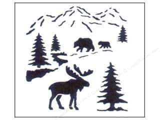 StenSource Painting Stencil Small Northwoods