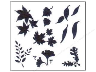 Stenciling Fall / Thanksgiving: StenSource Painting Stencil Mini Leaves