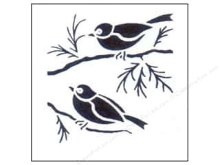 StenSource International 9 x 12: StenSource Painting Stencil Sparrows